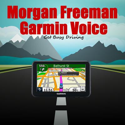 morgan freeman garmin voice