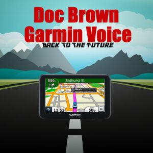 back to the future garmin voice