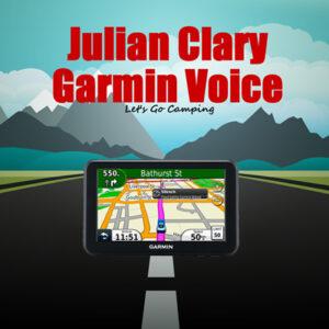 julian clary garmin voice