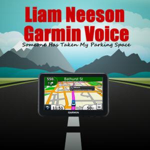 liam neeson Garmin voice