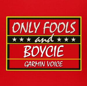 boycie garmin voice